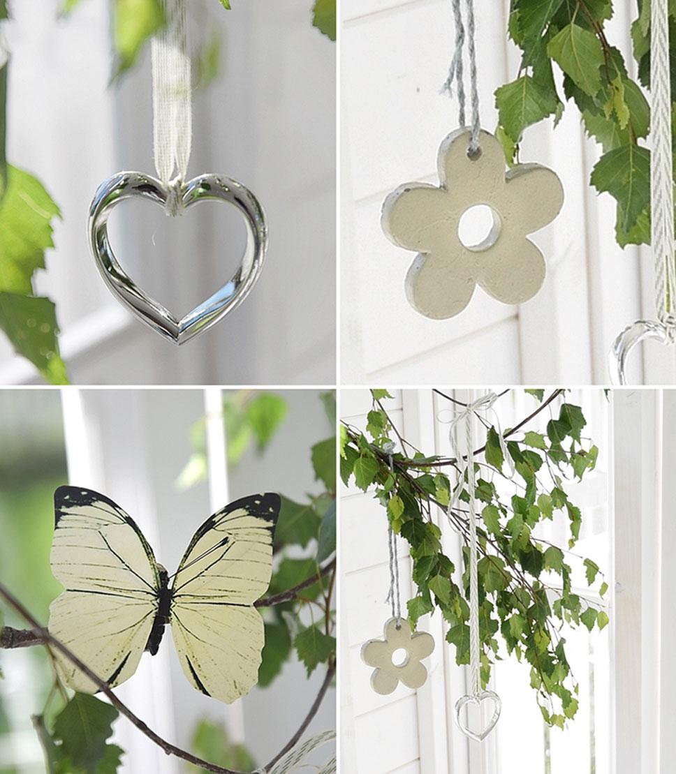 Diy Spatsommerliche Fensterdeko Mit Heart Serviettenringen