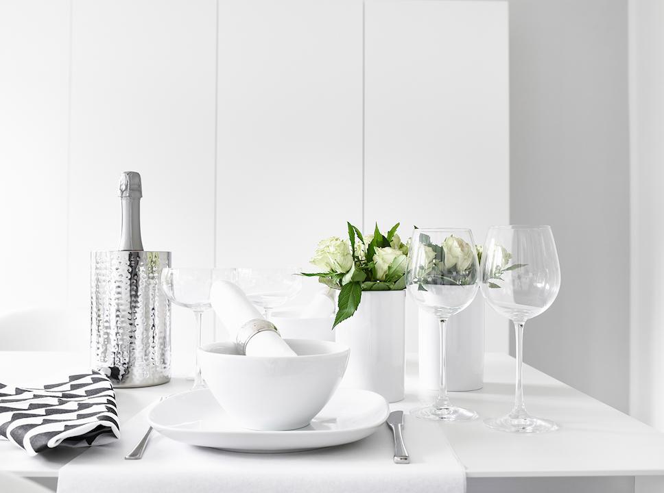 Dinner For Two Festliche Tischdeko In Weiss Fink Living Magazin