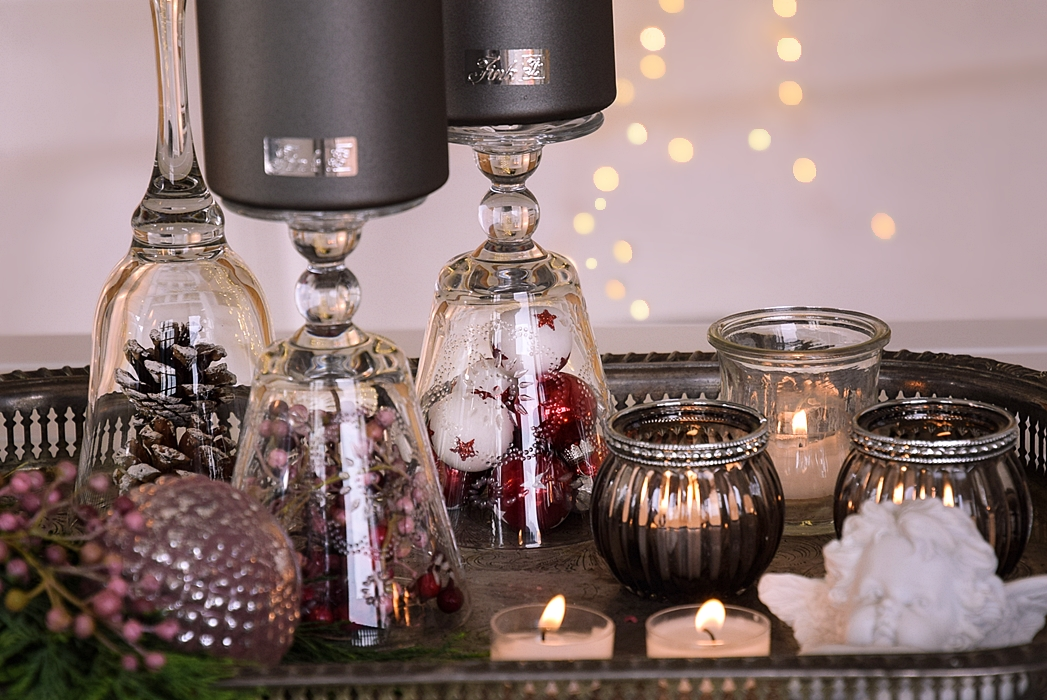 Diy Stilvolle Weihnachtsdekoration Mit Fink Kerzen
