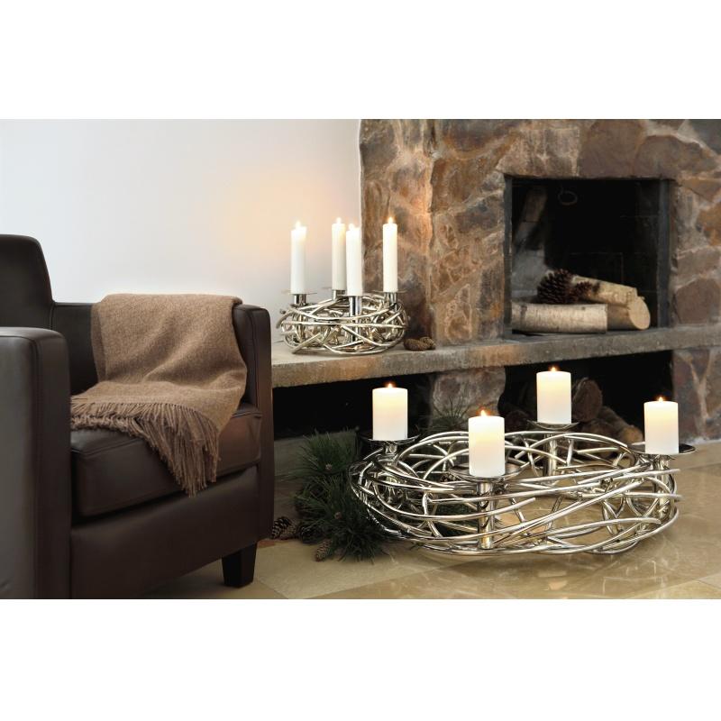 fink corona adventskranz 80 cm. Black Bedroom Furniture Sets. Home Design Ideas