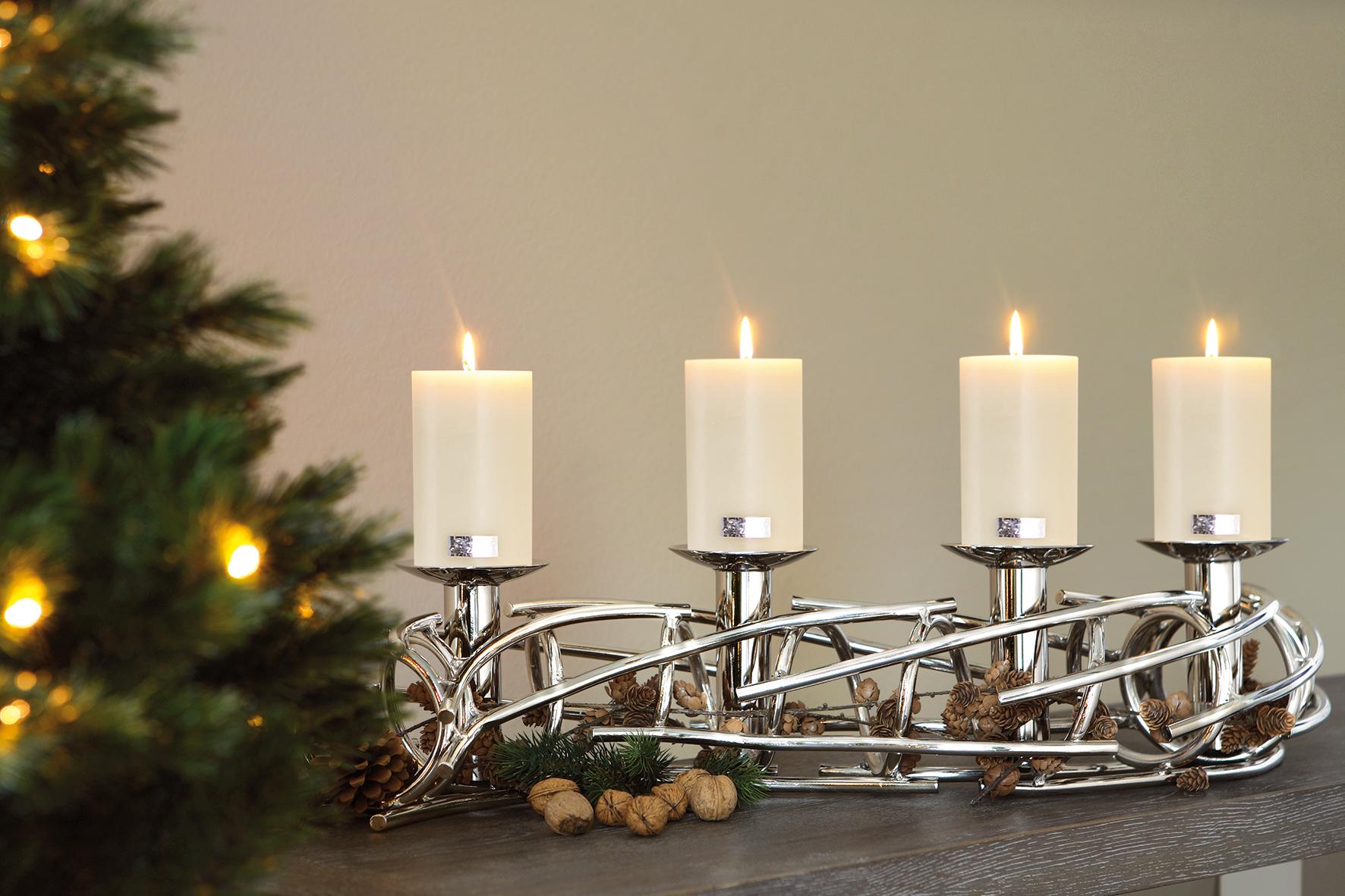 Fink Corona Leuchterband Kerzenleuchter
