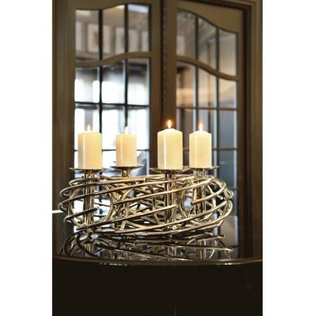 fink corona adventskranz 60 cm. Black Bedroom Furniture Sets. Home Design Ideas