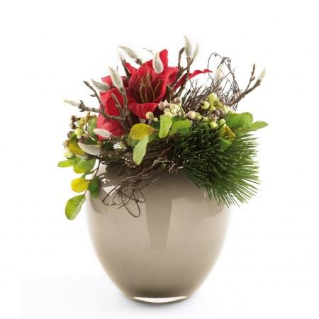 fink living amaryllisstrau klein ohne vase kunstblumen. Black Bedroom Furniture Sets. Home Design Ideas